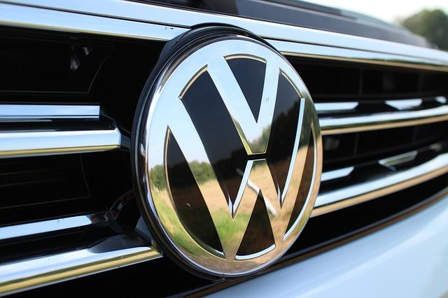 detail loga VW