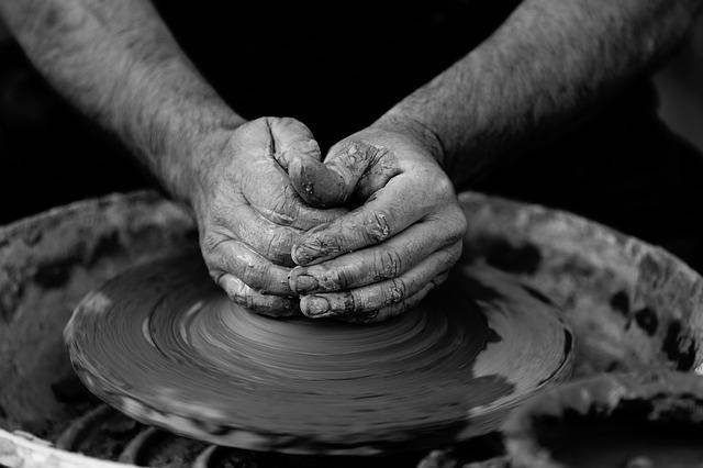 keramický kruh