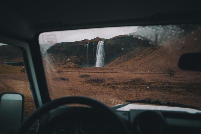sledování vodopádu