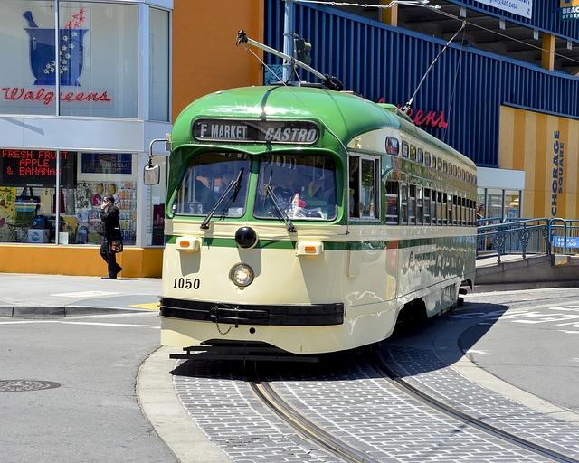 zelená tramvaj