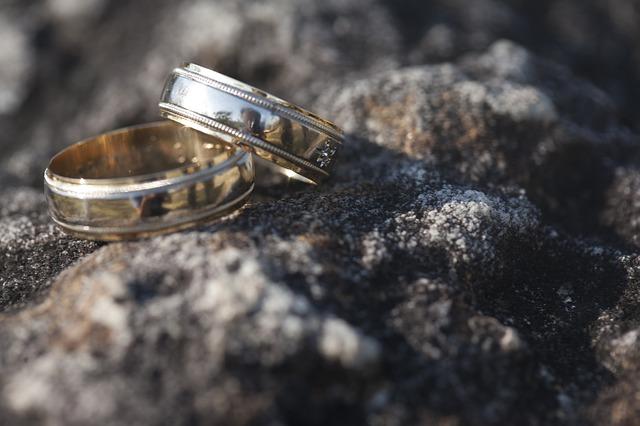 snubní prstýnky