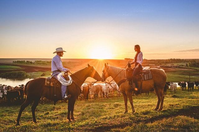 Westernová jízda