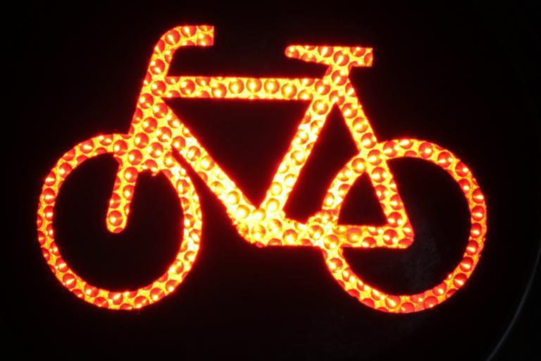 svítící kolo