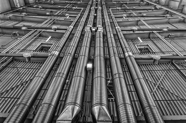 klimatizační potrubí