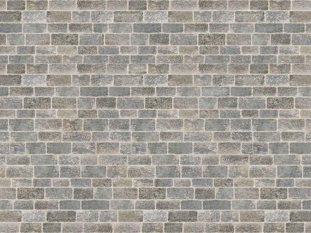 cihlová zeď, beton